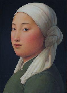 Xue Mo Mongolian Girl II, Catherine Asquith Gallery | Art Network Australia