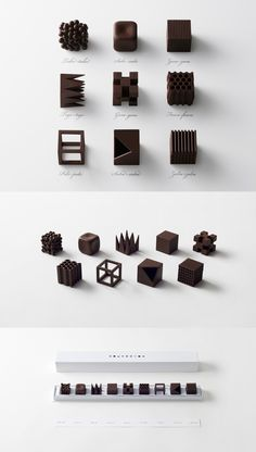 Chocolate Designed by Nendo http://www.thecoolhunter.net