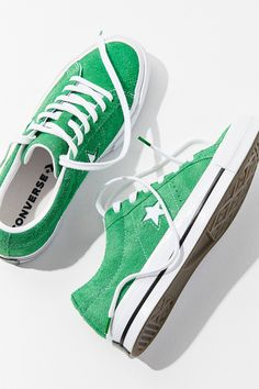 Converse One Star Suede Sneaker   Urban Outfitters