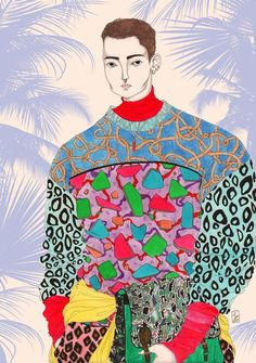 Today I want to show you these wonderful fashion illustrations by Jérémy Combot, a young french illustrator, born in Paris. Jérémy is a...