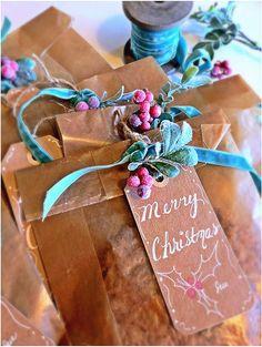It's all in the little details~velvet ribbon & sweet findings-Treats