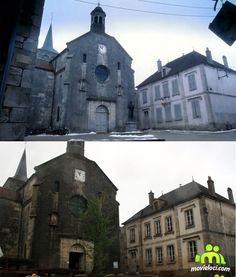 Chocolat (2000, Juliette Binoche, Johny Depp): Flavigny-sur-Ozerain, France Juliette Binoche, Johny Depp, Filming Locations, Around The Worlds, France, Mansions, House Styles, Manor Houses, Villas