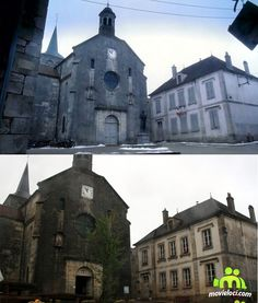 Chocolat (2000, Juliette Binoche, Johny Depp): Flavigny-sur-Ozerain, France