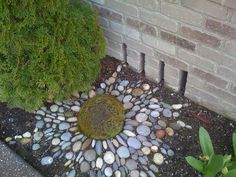 river rock landscaping ideas pictures pebble mosaic river rock garden pictures - All For Garden River Rock Landscaping, Landscaping With Rocks, Garden Landscaping, Landscaping Ideas, Backyard Ideas, Yard Art, Rock Garden Design, Rock Design, Rock Garden Art