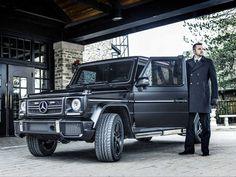 La Mercedes-Benz G63 AMG
