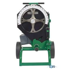 GREENLEE 555DX. Conduit Bender Electrical Capacity 1/2 to 2 in EMT/IMC/Rigid Conduit 120 20 Amps 60Hz Cycle Cord Length 9 Ft.Operating Temp (F) -5 to 120 Width 36 In.Depth 32 In.Height 40 In.Vertical or Horizantal Operating Position Welded Steel Frame Puncture-Proof Pneumatic Wheel Dia 12 In.Digital Angle Pendant Absolute Encoder-Based Control System Only Needs 2 Shoes To Bend All Rigid IMC And EMT Conduit Bending Includes Pendant Shoes Sold Separately (6TFH1)