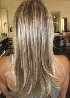 naturally light brown base, adding in superfine, gold blonde highlights is the best way to upgrade your color and still have an overall natural look