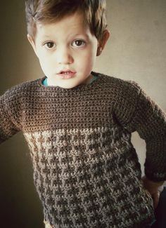 kids crochet sweater free pattern                                                                                                                                                                                 More