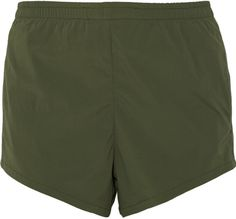 LAAIN Stretch-crepe shorts