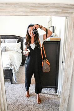 casual spring outfit ideas for women 1 Boho Outfits, Fall Outfits, Casual Outfits, Fashion Outfits, Hijab Casual, Casual Clothes, Casual Dresses, Fall Outfit Ideas, Black Outfits