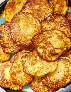 Grandma's Polish Potato Pancakes – Craving Tasty – Let's Eat – Polish Potato Pancakes, Pancakes And Waffles, Potato Pancake Recipes, German Potato Pancakes, Savory Pancakes, Waffle Recipes, Ukrainian Recipes, Russian Recipes, Vegetable Recipes