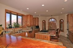Furnished Kitchen (2) - 203 Bristlecone Pines Rd, West Sedona, Listed with Rob Schabatka from RE/MAX Sedona.