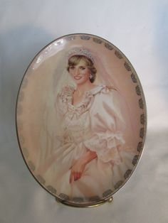 The Bradford Exchange The Peoples Princess Oval Princess Diana Plate First Issue in Collectables, Royalty, Princess Diana | eBay