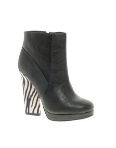 River Island Polly Razor Heeled Ankle Boots