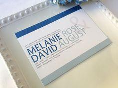 Printable Wedding Invitation Suite Shades of Blue by GalaPrintShop, $25.00
