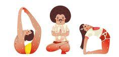 Bikram Yoga Characters : hagithash