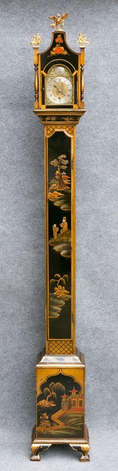 Chinoiserie Grandmother Longcase Clock