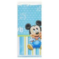 Mickey Mouse Plastic Table Cover,