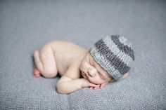 Newborn knit baby boy hats photography prop by simplybasicdesigns on Etsy https://www.etsy.com/listing/120015382/newborn-knit-baby-boy-hats-photography
