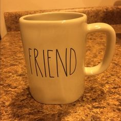 New Rae Dunn FRIEND mug New Rae Dunn FRIEND mug Other