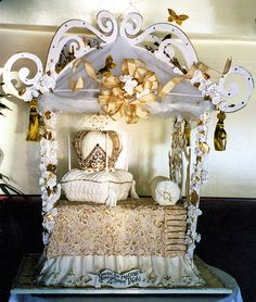 Princess Bed Cake!!!!! THIS IS A CAKE! Wow!