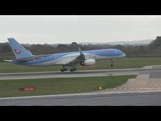 Video Flughafen Manchester: Notlandung von Thomson flight #TOM618 | traveLink