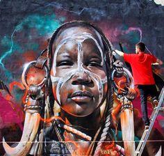Latest Street Art by the talented - XAV