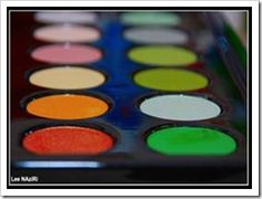 Website with ideas on teaching kids colors.