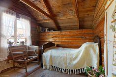 Swedish cabin bedroom. My Scandinavian Home blog