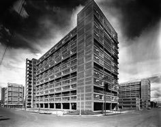 Centro Urbano Presidente Miguel Alemán 1947-1949  Col. del Valle. México D.F.  Arq. Mario Pani, Arq. Salvador Ortega Flores
