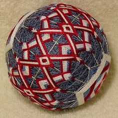 Japanese-Temari-Ball-11-Square-within-a-Square-2. Obi