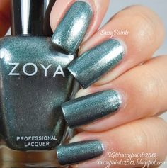 Sassy Paints: Zoya Cassedy from the Zenith Winter-Holiday Collection