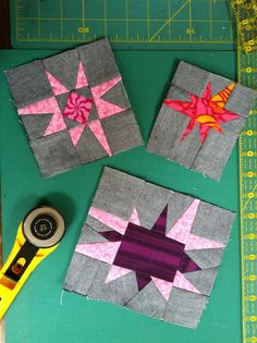 NYC Metro MOD Quilters: Mini stars for Suzanne