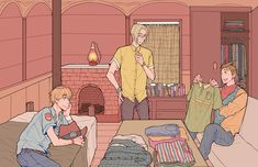 """❄Eternal Resident of FORD/NANAMI Hell❄ — """"Brad imposed a yellow t-shirt upon me, saying..."""