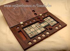 Royal Game of Ur board game by MJ2Artesanos on Etsy