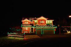 elegant christmas lights - Google Search