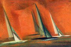 Lyonel Feininger. Schiffe und Meer