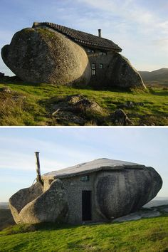 The 'true stone house', in the montains of Fafe, Portugal.