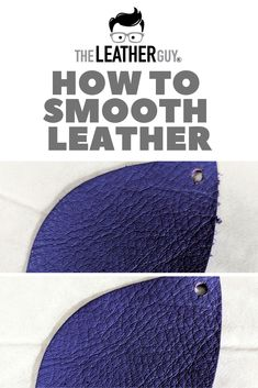 The Leather Guy walks you through smoothing your leather edges and fly-aways! accessories diy handmade How To Smooth The Rough Side of Your Leather Leather Art, Sewing Leather, Leather Tooling, Leather And Lace, Leather Totes, Leather Purses, Diy Jewelry Unique, Diy Jewelry Making, Jewelry Crafts