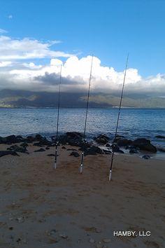 Fishing for breakfast at Kanaha.....