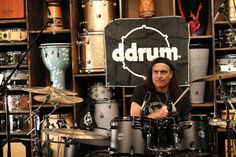 Vinny Appice at his last event here at GoDpsMusic #vinnyappice #drum #legend