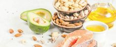 products with healthy fats. omega omega ingredients and Healthy Brain, Healthy Fats, Healthy Recipe Videos, Easy Healthy Recipes, Healthy Breakfast For Kids, Calcium Rich Foods, Healthy Banana Bread, Healthy Living Tips, Healthy Smoothies