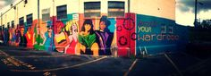 Photo taken with the new #Cycloramic 3.0: Recycle Your Wardrobe #iPhoneography #Cycloramic #photoediting #Atlanta #Georgia #Little5Points