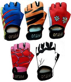 #Childrens / kids padded cycling / #bicycle / bike / cycle / bmx gloves #xxxxs-xs,  View more on the LINK: 	http://www.zeppy.io/product/gb/2/180666443528/