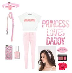 """Daddy's Girl 🦄"" by hannah-jo-rayne on Polyvore featuring Boohoo, Casetify, Essie, Bobbi Brown Cosmetics and Johnny Loves Rosie"