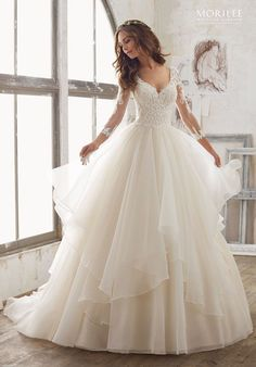 Tendance Robe du mariage 2017/2018 Morilee by Madeline Gardner wedding dress 5517 | trib.al/xxe6LPS