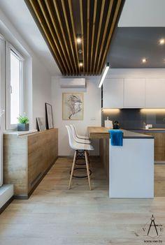 Kreatív lakberendezés 48m2-en - szokatlanul magas komfort és ötletes elrendezés, melyben minden funkcionális zónának kényelmes helye van