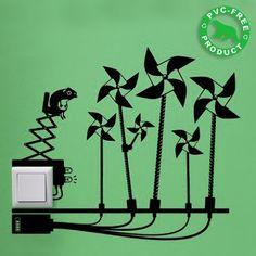 Ideas ecológicas para decorar la pared. | Quiero más diseño