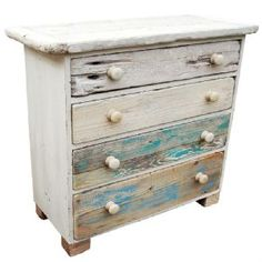 Coastal Chest of Drawers | Driftwood Furniture