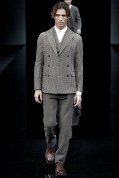 Giorgio Armani menswear collection, autumn/winter 2014